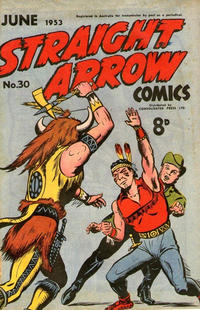 Cover Thumbnail for Straight Arrow Comics (Magazine Management, 1950 series) #30
