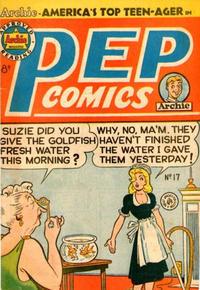 Cover Thumbnail for Pep Comics (H. John Edwards, 1951 series) #17
