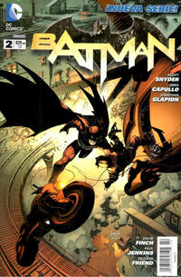 Cover Thumbnail for Batman (Editorial Televisa, 2012 series) #2