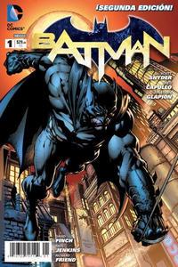 Cover Thumbnail for Batman (Editorial Televisa, 2012 series) #1 [Segunda Edición]