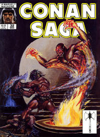 Cover Thumbnail for Conan Saga (Marvel, 1987 series) #32 [Direct]
