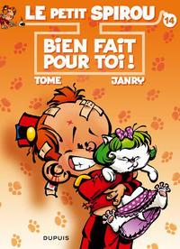 Cover Thumbnail for Le Petit Spirou (Dupuis, 1990 series) #14 - Bien fait pour toi !