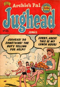 Cover Thumbnail for Archie's Pal Jughead (H. John Edwards, 1950 ? series) #23