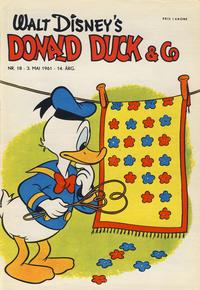 Cover Thumbnail for Donald Duck & Co (Hjemmet / Egmont, 1948 series) #18/1961