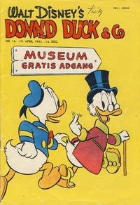 Cover Thumbnail for Donald Duck & Co (Hjemmet / Egmont, 1948 series) #16/1961