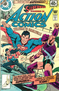Cover Thumbnail for Action Comics (DC, 1938 series) #495 [Whitman]