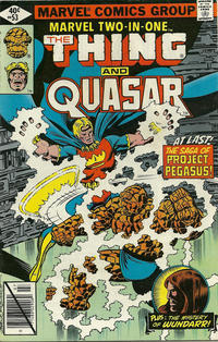 Cover Thumbnail for Marvel Two-in-One (Marvel, 1974 series) #53 [Direct]