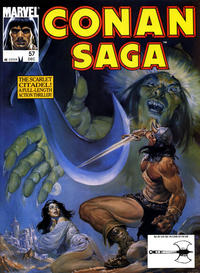 Cover Thumbnail for Conan Saga (Marvel, 1987 series) #57 [Direct]