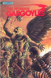 Cover Thumbnail for The Human Gargoyles (Malibu, 1988 series) #4