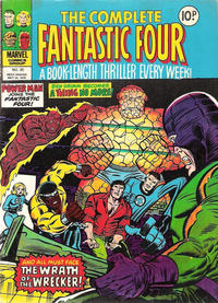 Cover Thumbnail for The Complete Fantastic Four (Marvel UK, 1977 series) #35