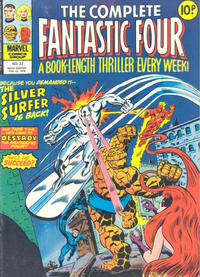 Cover Thumbnail for The Complete Fantastic Four (Marvel UK, 1977 series) #22