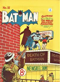 Cover Thumbnail for Batman (K. G. Murray, 1950 series) #32
