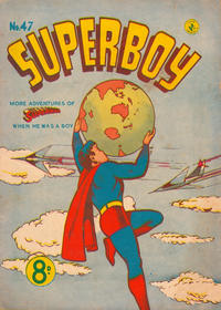 Cover Thumbnail for Superboy (K. G. Murray, 1949 series) #47