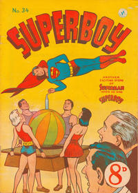Cover Thumbnail for Superboy (K. G. Murray, 1949 series) #34