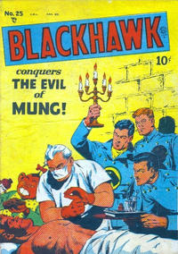 Cover Thumbnail for Blackhawk (Bell Features, 1949 series) #25