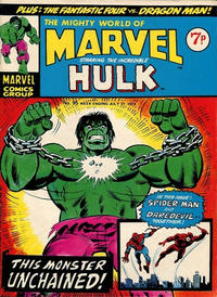Cover Thumbnail for The Mighty World of Marvel (Marvel UK, 1972 series) #95