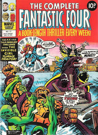 Cover Thumbnail for The Complete Fantastic Four (Marvel UK, 1977 series) #17