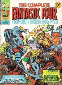 Cover Thumbnail for The Complete Fantastic Four (Marvel UK, 1977 series) #10