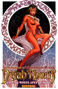 Cover Thumbnail for Dejah Thoris and the White Apes of Mars (Dynamite Entertainment, 2012 series) #3 [Risque art variant]