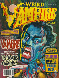 Cover Thumbnail for Weird Vampire Tales (Eerie Publications, 1979 series) #v4#2