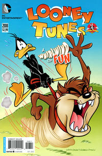 Cover Thumbnail for Looney Tunes (DC, 1994 series) #208 [Direct Sales]
