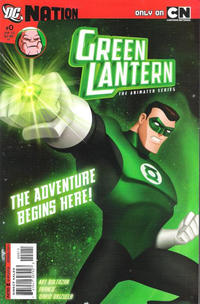 Cover Thumbnail for Green Lantern: The Animated Series (DC, 2012 series) #0