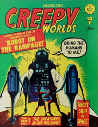 Cover Thumbnail for Creepy Worlds (Alan Class, 1962 series) #148