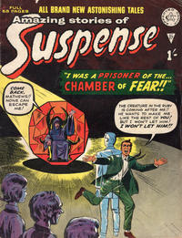 Cover Thumbnail for Amazing Stories of Suspense (Alan Class, 1963 series) #27