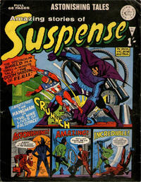Cover Thumbnail for Amazing Stories of Suspense (Alan Class, 1963 series) #86