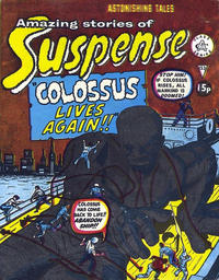 Cover Thumbnail for Amazing Stories of Suspense (Alan Class, 1963 series) #153