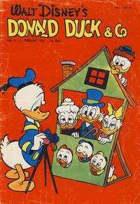 Cover Thumbnail for Donald Duck & Co (Hjemmet / Egmont, 1948 series) #5/1961