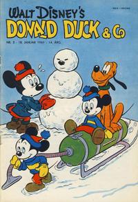 Cover Thumbnail for Donald Duck & Co (Hjemmet / Egmont, 1948 series) #3/1961