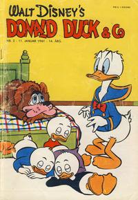 Cover Thumbnail for Donald Duck & Co (Hjemmet / Egmont, 1948 series) #2/1961