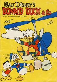 Cover Thumbnail for Donald Duck & Co (Hjemmet / Egmont, 1948 series) #53/1960
