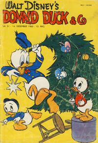 Cover Thumbnail for Donald Duck & Co (Hjemmet / Egmont, 1948 series) #51/1960