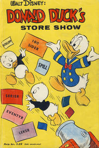 Cover for Donald Duck's Show (Hjemmet, 1957 series) #[5] - Store show [1960]