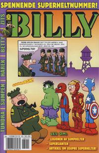 Cover Thumbnail for Billy (Hjemmet / Egmont, 1998 series) #15/2012