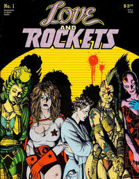 Cover Thumbnail for Love and Rockets (Fantagraphics, 1982 series) #1 [Second Printing]