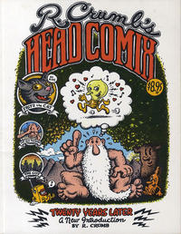 Cover Thumbnail for R. Crumb's Head Comix: Twenty Years Later (Simon and Schuster, 1988 series)