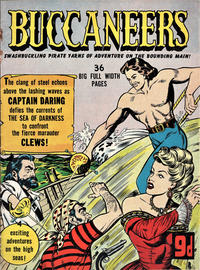 Cover Thumbnail for Buccaneers (T. V. Boardman, 1951 series) #4