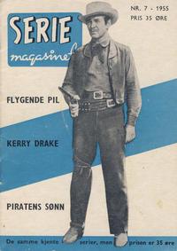 Cover Thumbnail for Seriemagasinet (Serieforlaget / Se-Bladene / Stabenfeldt, 1951 series) #7/1955
