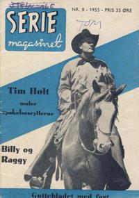 Cover Thumbnail for Seriemagasinet (Serieforlaget / Se-Bladene / Stabenfeldt, 1951 series) #8/1955