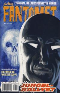 Cover Thumbnail for Fantomet (Hjemmet / Egmont, 1998 series) #23/2001