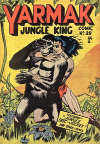 Cover Thumbnail for Yarmak Jungle King Comic (Young's Merchandising Company, 1949 series) #39