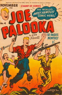 Cover Thumbnail for Joe Palooka (Magazine Management, 1952 series) #4