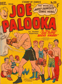 Cover for Joe Palooka (Magazine Management, 1952 series) #29