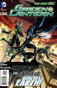 Cover Thumbnail for Green Lantern (DC, 2011 series) #12 [Doug Mahnke Cover]