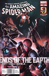 Cover Thumbnail for The Amazing Spider-Man (Marvel, 1999 series) #683 [newsstand]