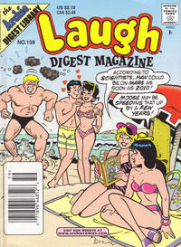 Cover Thumbnail for Laugh Comics Digest (Archie, 1974 series) #159 [Newsstand]