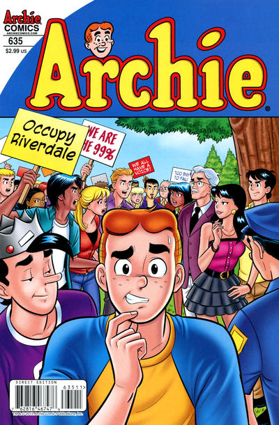 Cover for Archie (Archie, 1959 series) #635 [Variant Edition]